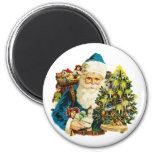 Nostalgic Santa Claus Refrigerator Magnet