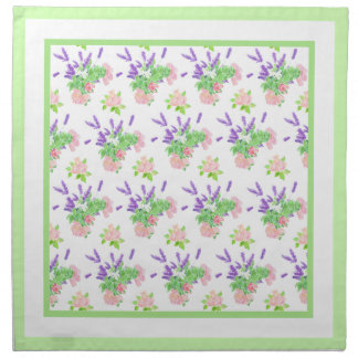 Nostalgic Scents of Summer Pattern Table Napkin