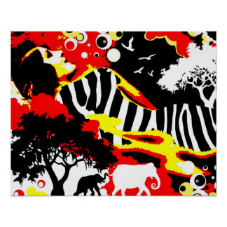 Nostalgic Seduction - Safari Dreams Poster