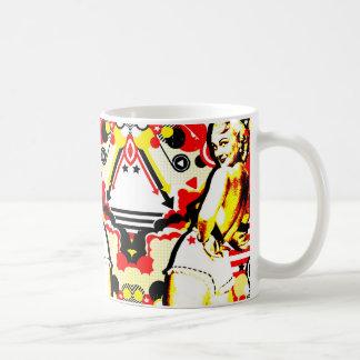 Nostalgic Seduction - Striptease Coffee Mug