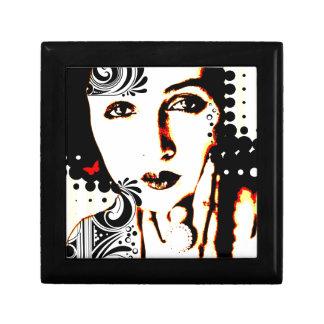 Nostalgic Seduction - Subjected to Ink Small Square Gift Box