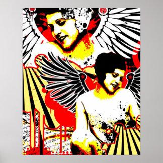 Nostalgic Seduction - Vexed Angel Poster