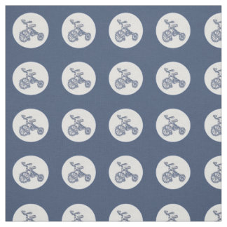 nostalgic tricycle fabric