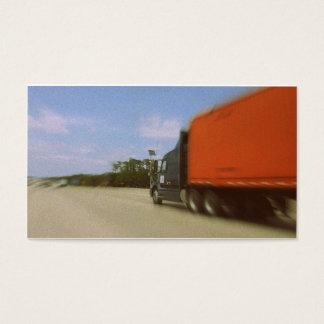 Nostalgic Truck Driver Funeral Memorial Card