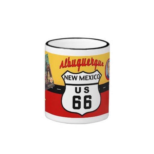 Nostalgic US Route 66 - New Mexico Mug