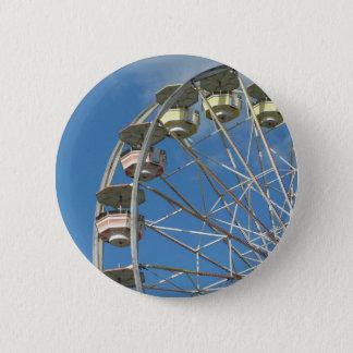 Nostalig ride 6 cm round badge