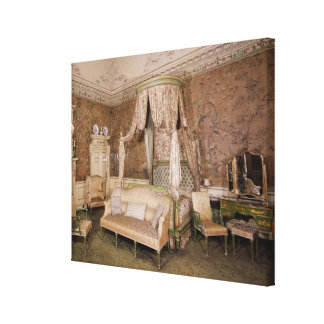 Nostell Priory the state bedroom 1771 Stretched Canvas Print