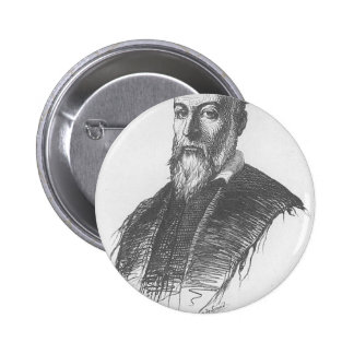 nostradamus 6 cm round badge