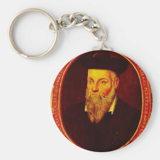 Nostradamus Basic Round Button Key Ring
