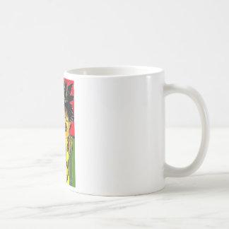 nosy basic white mug
