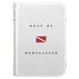Nosy Be Madagascar Scuba Dive Flag Kindle Keyboard Case