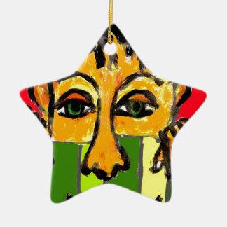 nosy christmas ornament
