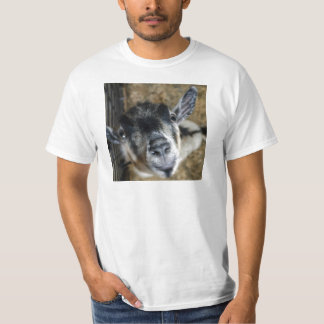 Nosy Goat Looking Up T-Shirt