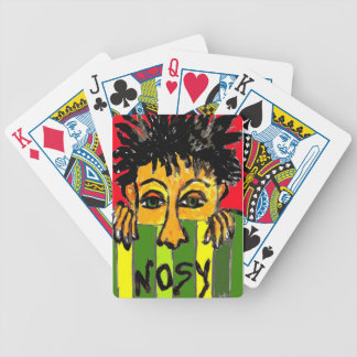 nosy bicycle playing cards