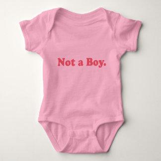 Not a Boy Funny Baby TShirt