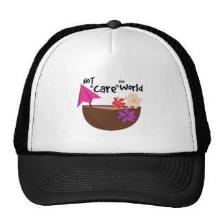 Not A Care Mesh Hat