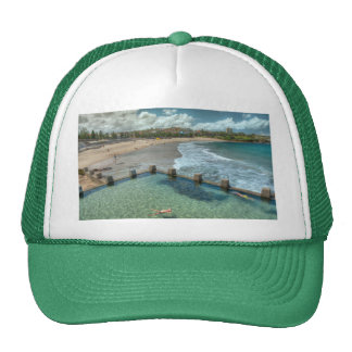 Not a care in the world- Coogee, Australia Mesh Hats