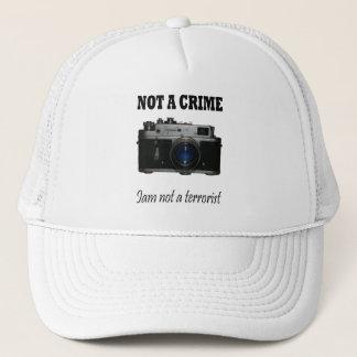 not a crime trucker hat