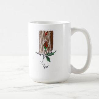 Not A Drop Wasted ~ Basic White Mug