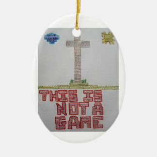 Not a Game Ornament