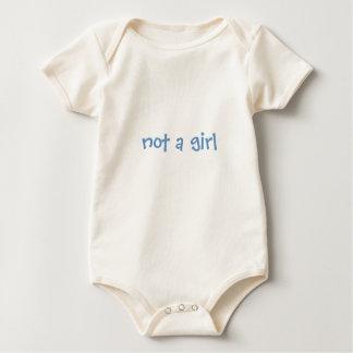 not a girl - Customised Bodysuit