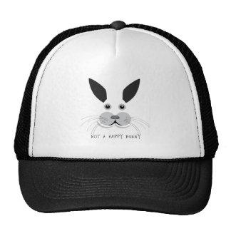 Not a Happy Bunny! Cap