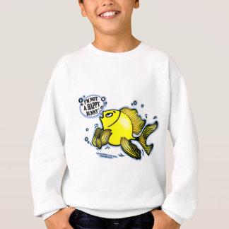 Not a Happy Bunny Fish Sweatshirt