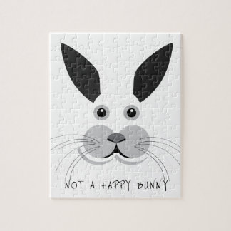 Not a Happy Bunny! Jigsaw Puzzle