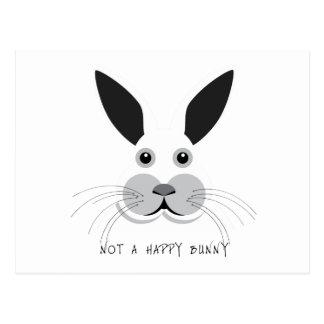 Not a Happy Bunny! Postcard