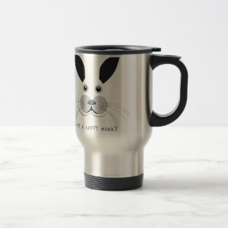 Not a Happy Bunny! Travel Mug