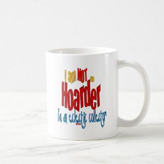 NOT a Hoarder 2 Basic White Mug