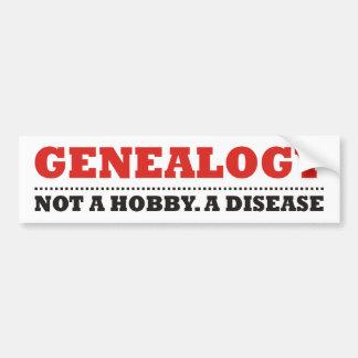 Not A Hobby. A Disease. Car Bumper Sticker