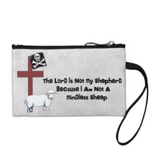 Not A Mindless Sheep Coin Wallet