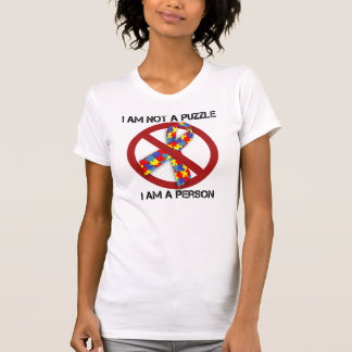 Not a Puzzle Ribbon T-shirts