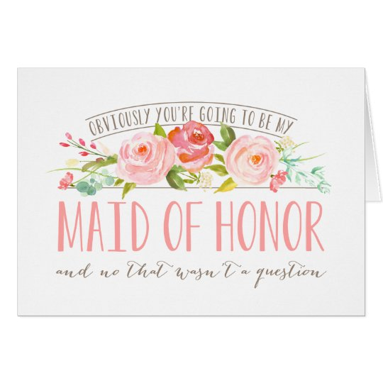 Not a Question, Maid Of Honour Rose Garden