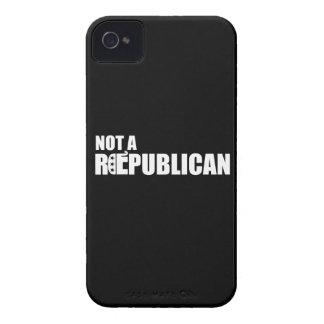 NOT A REPUBLICAN -.png Case-Mate iPhone 4 Case