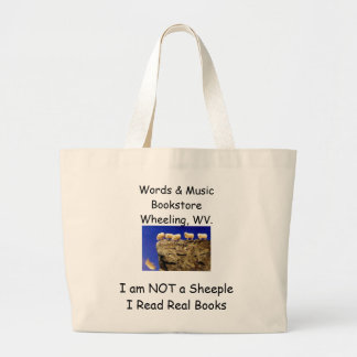 not a sheeple book tote