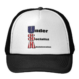 not a socialist america trucker hats