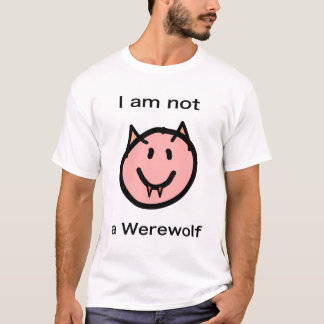 Not-a-Werewolf shirt