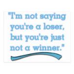 NOT A WINNER