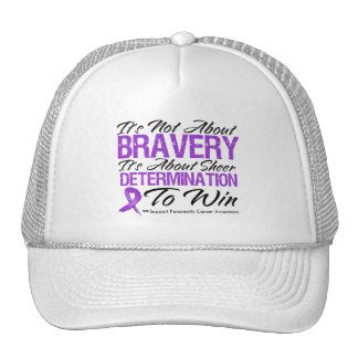 Not About Bravery - Pancreatic Cancer Mesh Hat