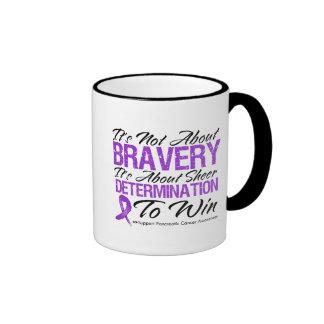 Not About Bravery - Pancreatic Cancer Mugs