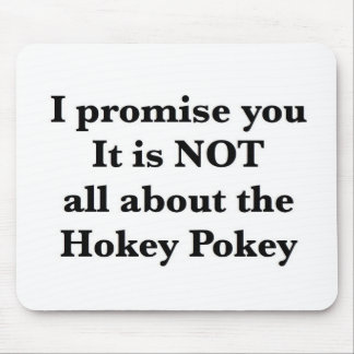 Not All About the Hokey Pokey Mouse Pad