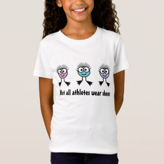 Not all athletes wear shoes - Swim Characters T-Shirt
