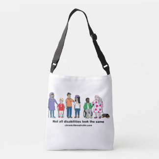 Not All Disabilities Look the Same DoubleSided Bag