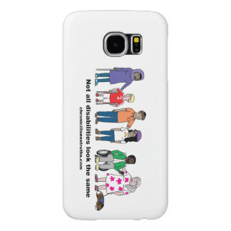 Not All Disabilities Look the Same Galaxy S6 Case