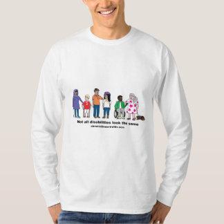Not All Disabilities Look the Same Men's Shirt
