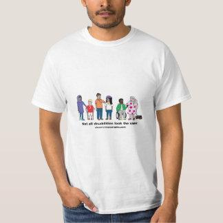 Not All Disabilities Look the Same Men's T-Shirt