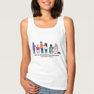 Not All Disabilities Look the Same Women's Tank