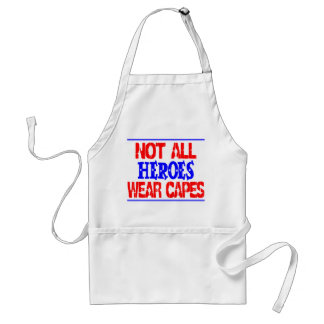 Not All Heroes Standard Apron